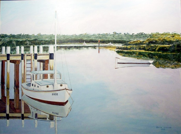 Tooradin reflection marine art jack woods seapainting