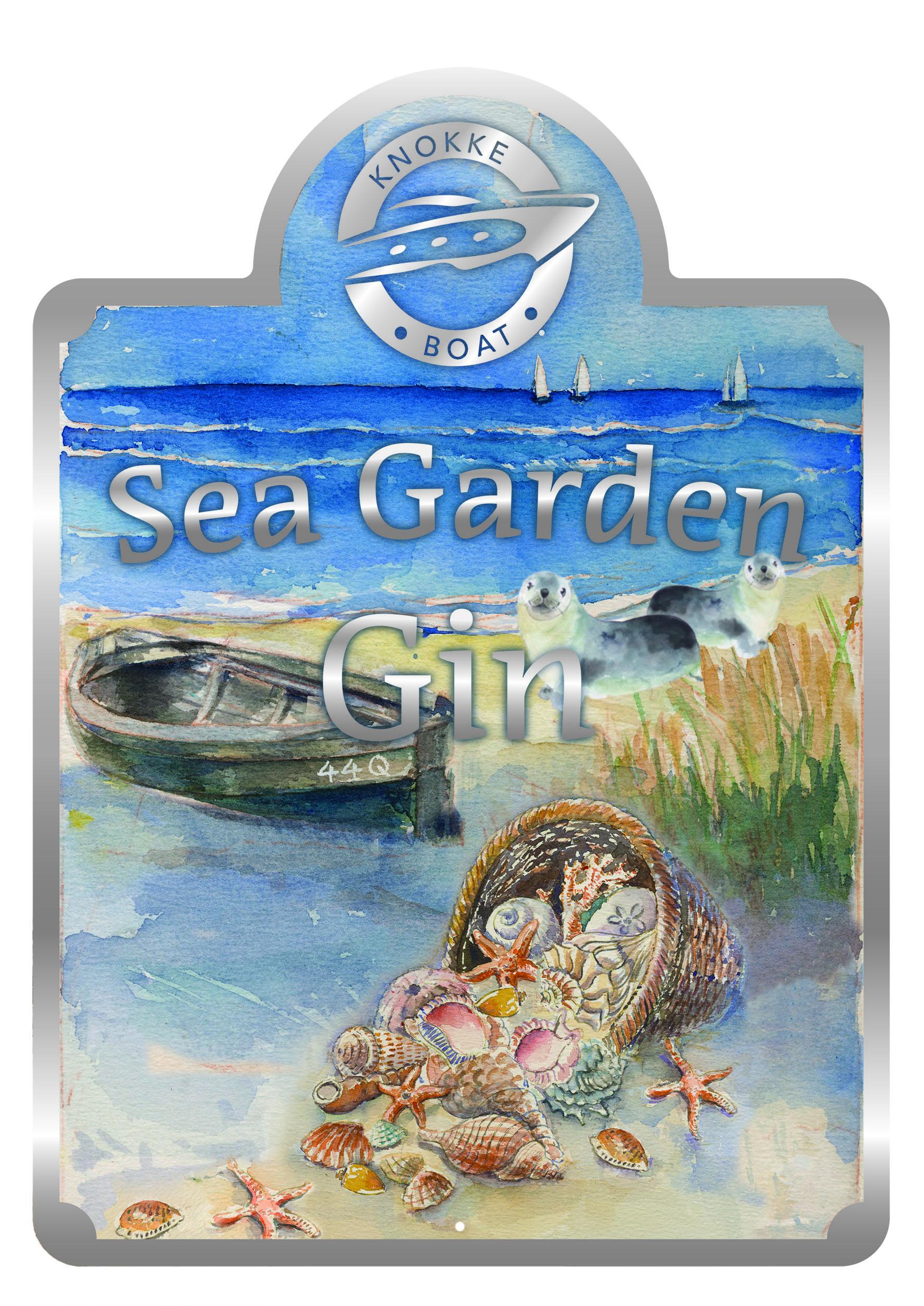 Knokke Boat Sea Garden Gin