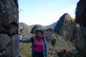 Donna in Machu Pichu,First Visit to Sea Ranch
