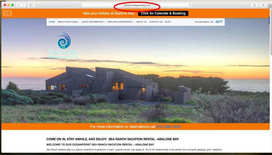save money, book direct, Abalone Bay, Sea Ranch