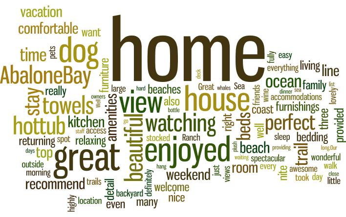 love vacation rentals, sea ranch, abalone bay, vacation, vacation r