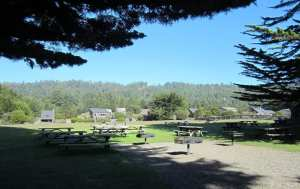 Labor Day Weekend, picnic, One Eyed Jacks picnic tables