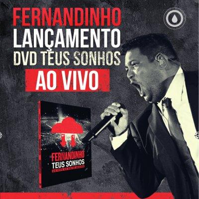 Fernandinho lança o DVD no Credcard Hall em São Paulo