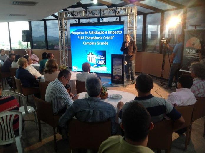 VINACC - Consciência Cristã gera mais de R$ 2 milhões para economia de Campina Grande