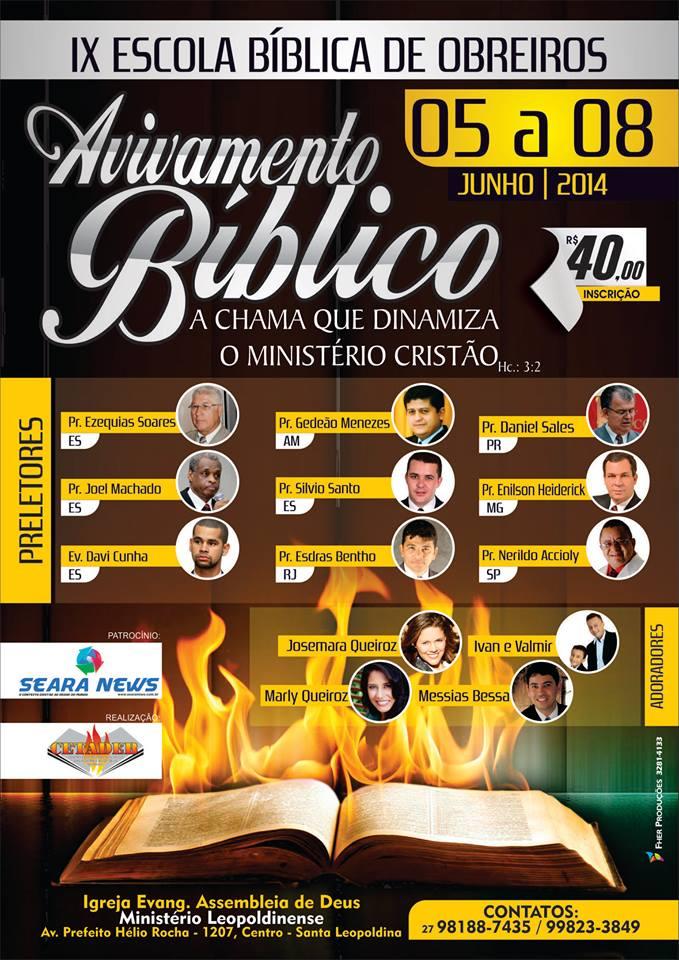 IX Escola Bíblica de Obreiros da Região Serrana do Espírito Santo
