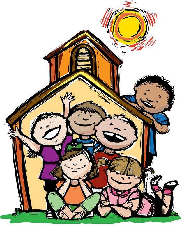 As crianças, o pregador e a igreja