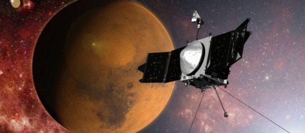 Sonda Maven entra na órbita de Marte para descobrir o que aconteceu com sua atmosfera