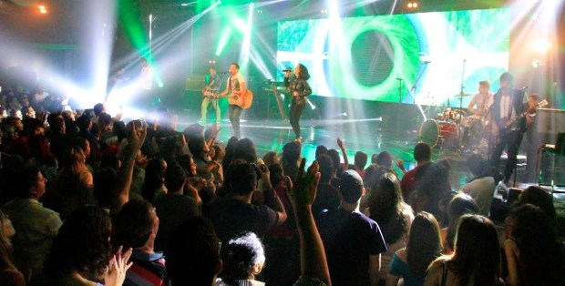 """Ministério Novidade de Vida grava DVD """"Cristo Reina"""""""