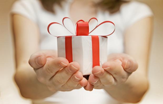 Um presente para você!
