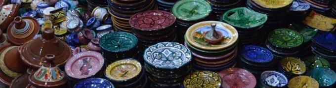 マラケシュの陶器