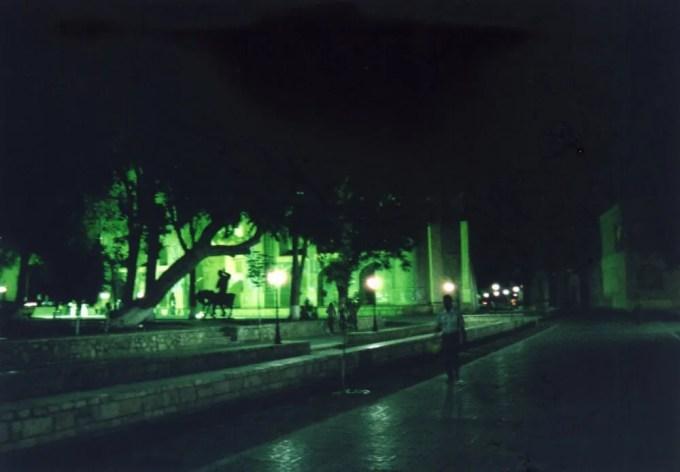 夜のブハラ旧市街【ウズベキスタン(ブハラ)】