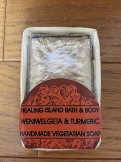 スリランカ石鹸 ベニバル&ターメリック