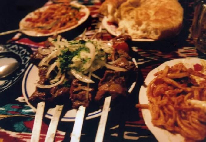 うまいシャシリク【ウズベキスタン(ブハラ)】