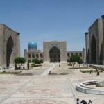 シルクロードに輝く壮大な青の都、サマルカンド【ウズベキスタン】