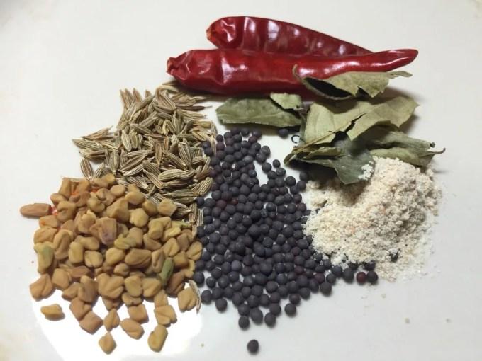 南インド料理 サンバルレシピ