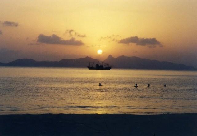 アデンの夕陽