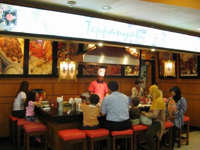 日本食の店(ジョグジャカルタ、マリオボロモールのフードコート)