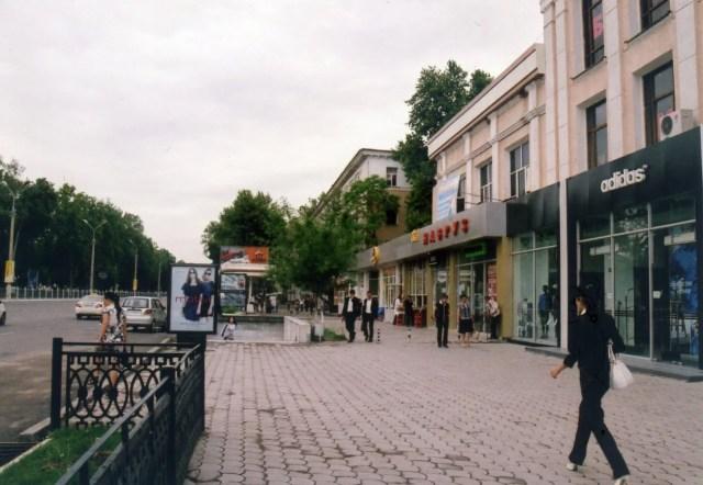 ウズベキスタンの首都、タシケントの街
