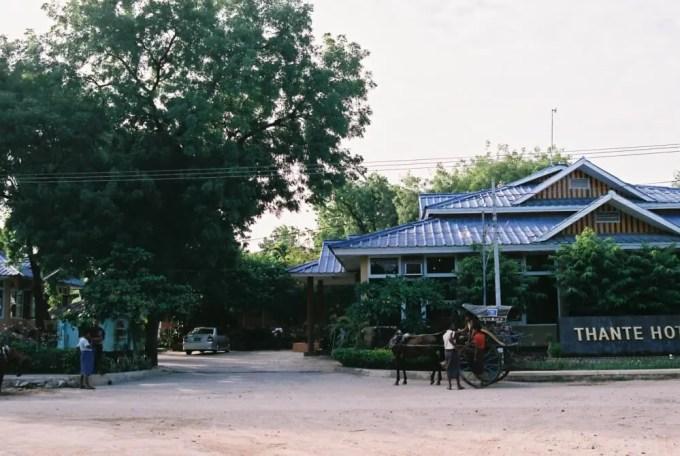 タンテ・ホテル【ミャンマー(ニャウンウー)】