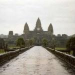 アンコール・ワットとバイタクのふたりとのお別れ【カンボジア】