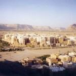 砂漠の摩天楼都市「シバーム」の外観と街の様子【イエメン】