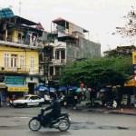 しっとりと落ち着いた雰囲気のベトナムの首都「ハノイ」の町【ベトナム】