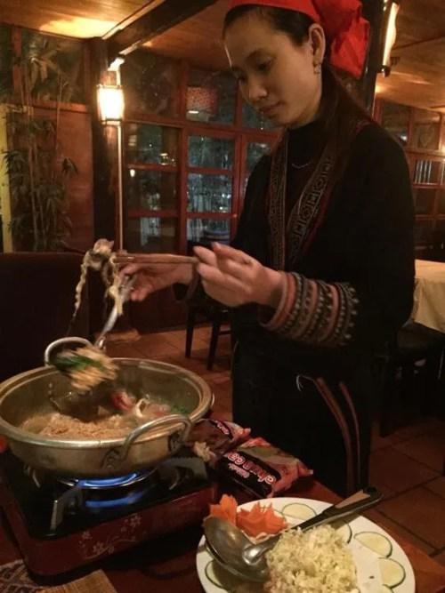 ベトナム2 サパ レッドザオレストラン