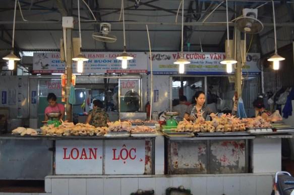ベトナム4 ハノイ ホム市場