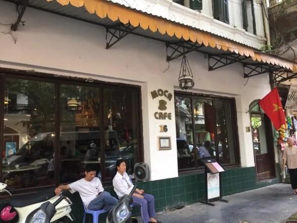 ベトナム4 ハノイ モカ・カフェ