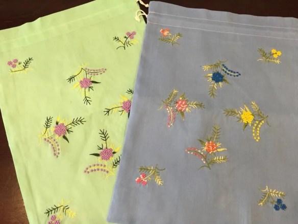 ベトナムお土産 刺繍巾着