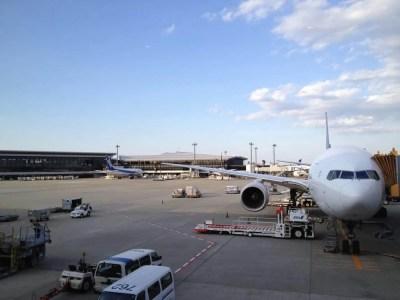 成田空港からエアカナダでキューバへ向けて出発。トロント行きは1時間の遅れ。 【キューバ Cuba】