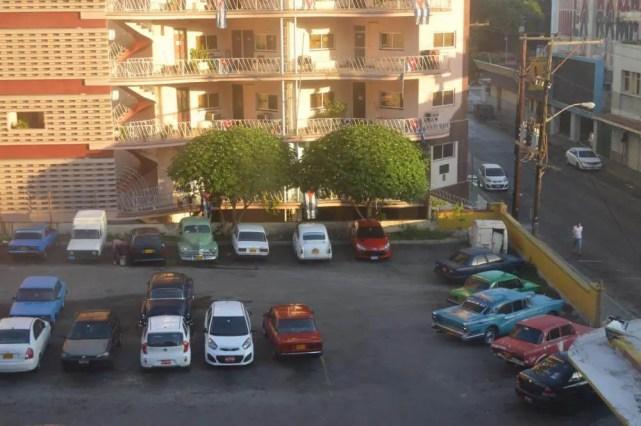 ホテル・ベダードの部屋からの眺め(ハバナ) 【キューバ Cuba】