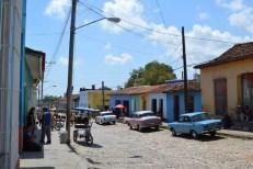 クラシックカー、トリニダーの街 【キューバ Cuba】