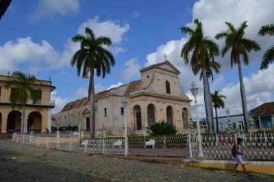 マヨール広場、トリニダーの風景 【キューバ Cuba】