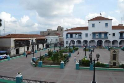 カテドラル、サンティアゴ・デ・クーバの風景 【キューバ Cuba】