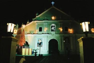 フィリピン、ビガン。ビガンの教会