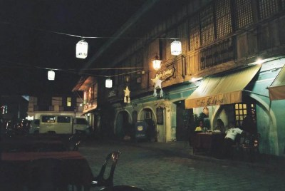 フィリピン、ビガン。夜の世界遺産、ビガン歴史都市