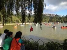 フィリピン、バギオ。バギオのバーンハム公園の午後 【フィリピン】