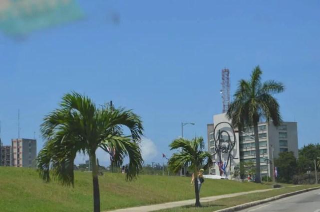 内務省付近、ハバナの風景 【キューバ Cuba】
