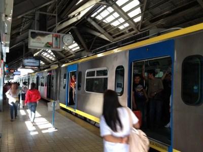 フィリピン、マニラ。マニラのLRT