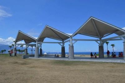 花蓮市北東部にある美しい海岸、七星譚【台湾】