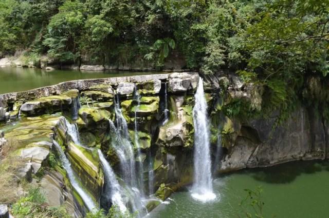 平渓線、十分瀑布【台湾】