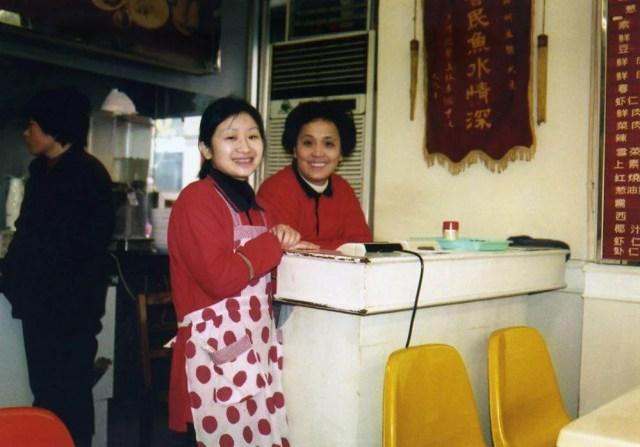 上海の食堂にて【中国、上海】