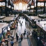 ブダペスト中央市場(ハンガリー・ブダペスト)【市場・バザール】