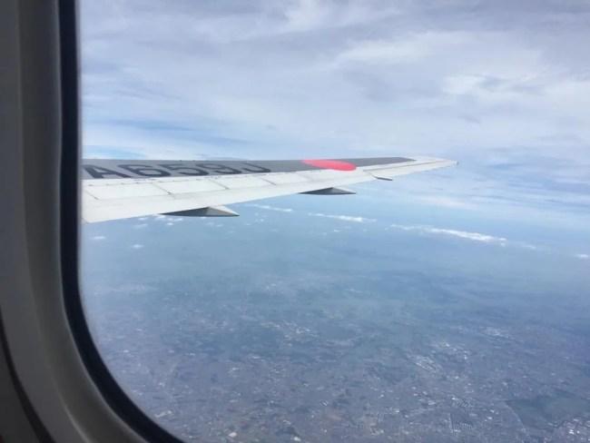 釧路行きJAL、北海道