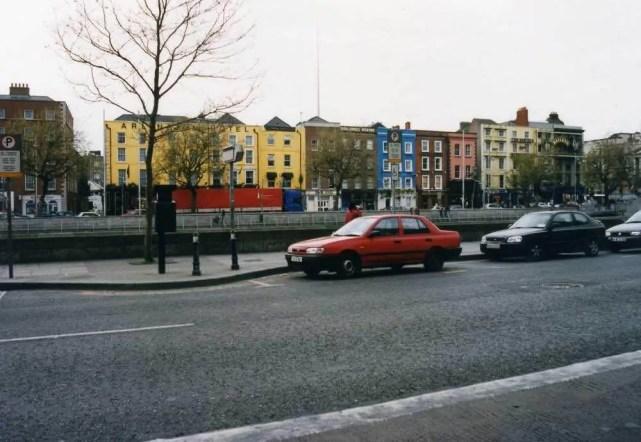 ダブリンの町 【アイルランド】