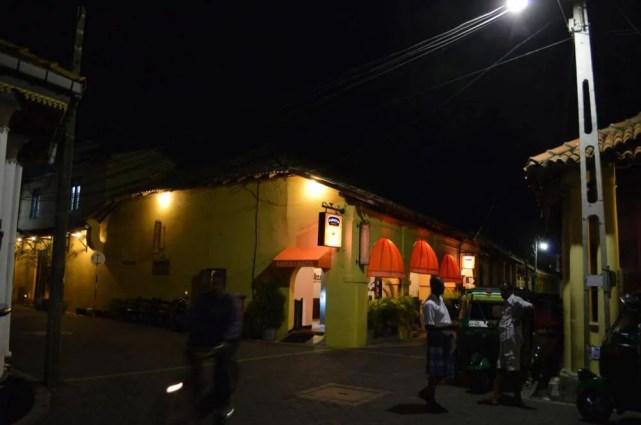 世界遺産、ゴール旧市街の夜【スリランカ】