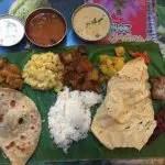 本場チェンナイの味、バナナリーフのミールス『南印度ダイニング』@中野