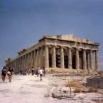アクロポリスの「パルテノン神殿」とスニオン岬の「ポセイドン神殿」【ギリシャ】