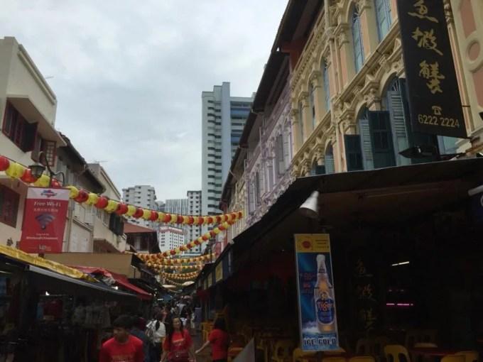 チャイナタウン【シンガポール】